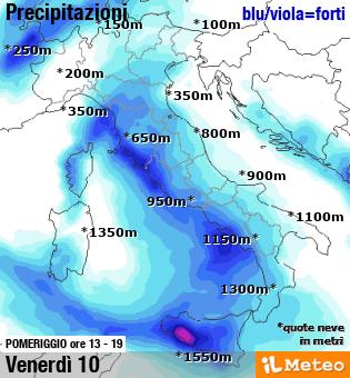 Previsioni meteo Italia ▷ domani » ILMETEO it